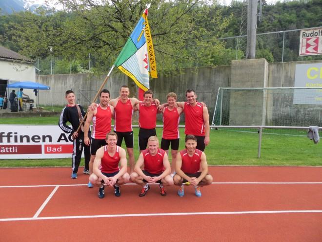 Erneuter Schweizermeistertitel der TVW Männer in der Pendelstaffette