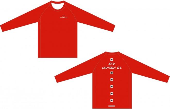 Neues Langarm-Shirt