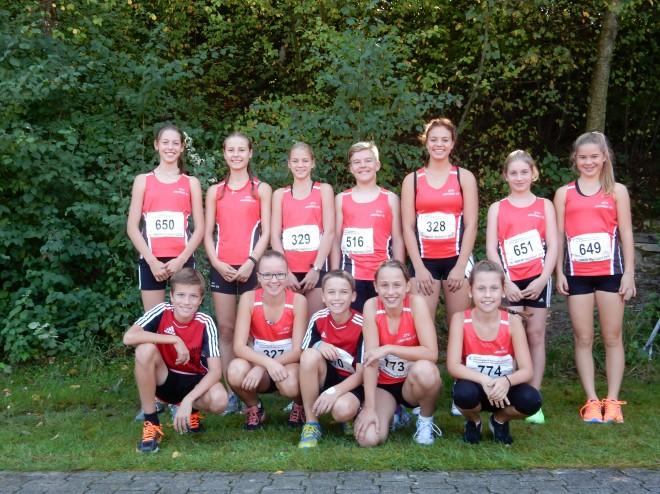 Guter Saisonabschluss für unsere Nachwuchsleichtathleten in Hochdorf