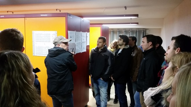 TK und Vorstand in Staumauer Wägital
