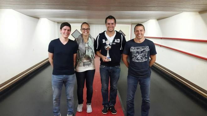 Simon Bügler ist neuer TVW Kegelmeister