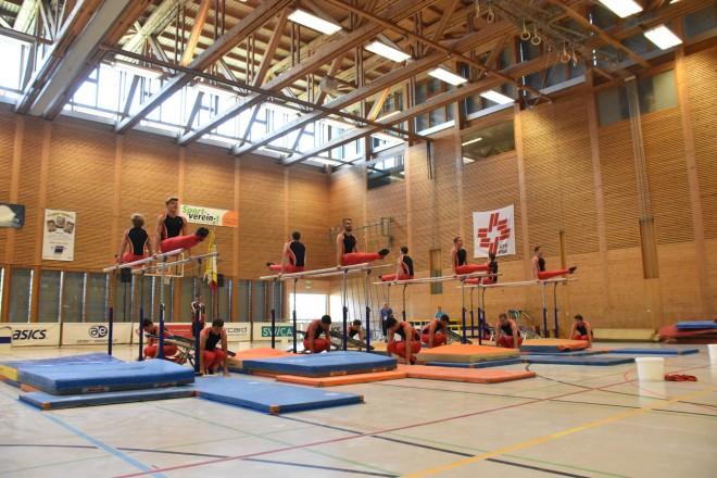 Fotos Barrenteam an den Schweizer Meisterschaften im Vereinsturnen in Widnau