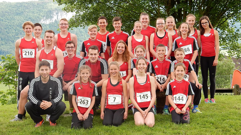 Leichtathletik Gruppe