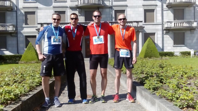 TVW Team am Zürichmarathon