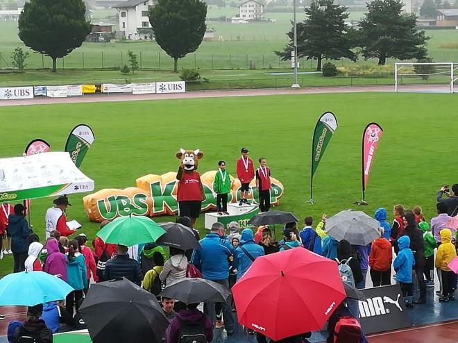 Zwei Podestplätze am UBS Kids Cup Kantonalfinal