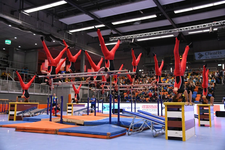 Fotos der SM Vereinsturnen in Schaffhausen