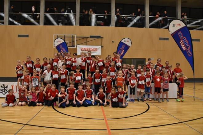 Vier Podestplätze am UBS Kids Cup Team