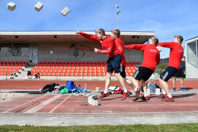 Fotos des Trainingsweekends in Willisau