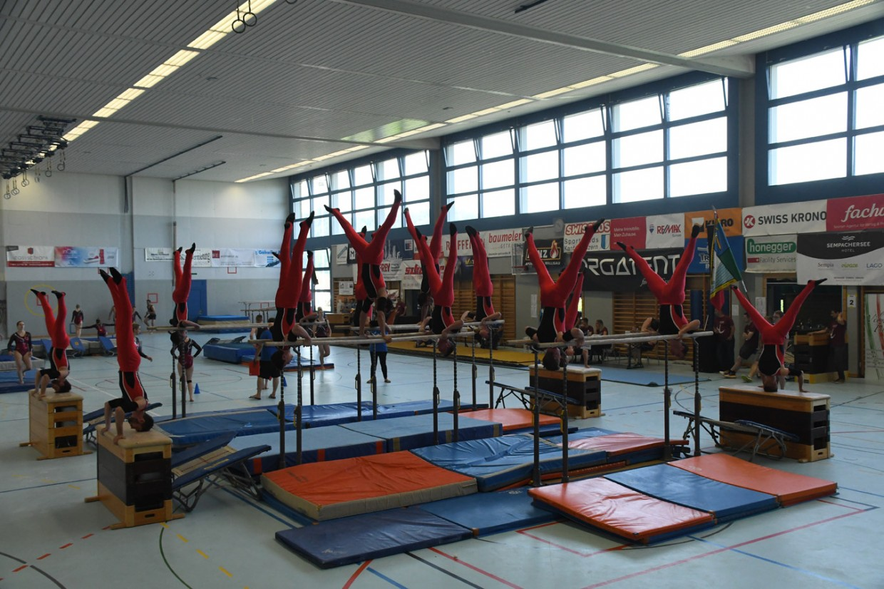Gelungener Saisonstart am Gym-Day in Grosswangen