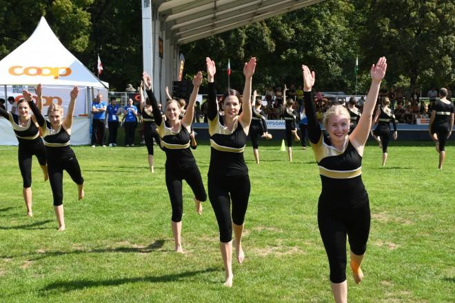 GymnastikerInnen mit Finaleinzug an der SMV in Burgdorf