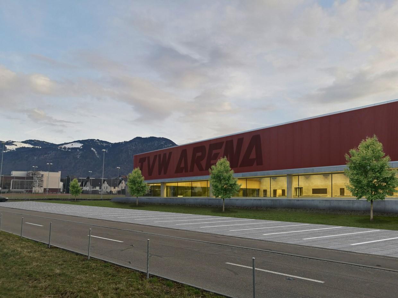 TVW plant 3-Fach Turnhalle